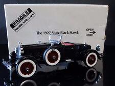 Danbury Mint 1927 Stutz Black Hawk Coupe Roadster 1:24 Scale Diecast Replica Car