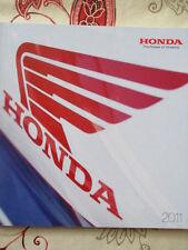 CATALOGUE MOTO : HONDA : GAMME 2011