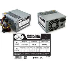 ALIMENTATORE PC ATX 500 WATT CON VENTOLA 12cm 500W VULTECH GS-500B FISSO DESKTOP