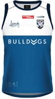 Canterbury Bulldogs 2021 Training Singlet Sizes Small - XL NRL Classic Laundy