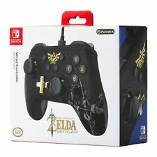 PowerA - Zelda: Breath of the Wild Edition Controller for Nintendo Switch-Black
