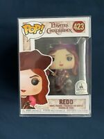 Funko Pop Disney #423 Redd Metallic Pirates Caribbean Parks Exclusive Protector