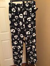 Disney Nightmare Before Christmas Men's Pajama  Pants, Size: Medium, Black