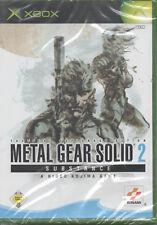 Metal Gear Solid 2 - Substance (Microsoft Xbox, 2003, DVD-Box)