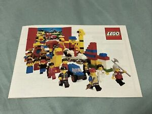 1981 LEGO catalogue brochure - Very Good Condition  - Vintage