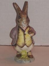 "Royal Albert Beatrix Potter Figurine Mr. Benjamin Bunny 4.25"""