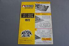 X271 NEUHEITEN Train maquette decor depliant1972 2 pages 29,7*21 cm D