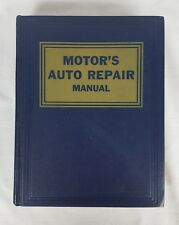 Motor's Auto Repair Manual 26th Edition 1956-1963 Models Great Condition