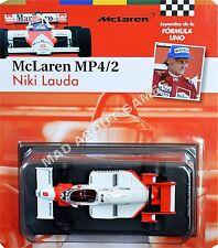 MCLAREN MP4 NIKI LAUDA #8 1:43 Scale F1 Racing Metal Model Formula One Miniature