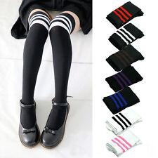 Filles Mode Nouveau Over Knee Cuisse Haute Bas Chaussettes Longues Cadeaux
