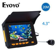 "EYOYO 4.3"" HD 320*240 Monitor+20M 1000TVL 8Ps IR Night Vision Camera Fish Finder"