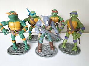 TMNT & Rocksteady Teenage Mutant Ninja Turtles Classic Collection 5 Figures Set.