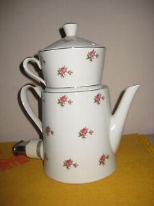 Aromator Bavaria elektrische Porzellan Kaffeemaschine Kaffeezubereiter Vintage