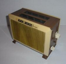 "Vintage 1987 Black & Decker ""Junior"" Toy Toaster - For Child's Play Kitchen"