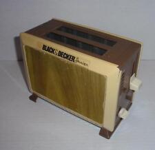 """Vintage 1987 Black & Decker """"Junior"""" Toy Toaster - For Child's Play Kitchen"""