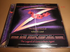 DEBBIE deborah GIBSON stars in Z : THE MASKED MUSICAL cd (zorro) robert cabell