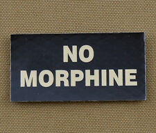 "IR Infrared Reflective Patch for NVG ""NO MORPHINE"" with VELCRO® brand hook"