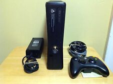 Xbox 360 S Slim 250GB System Console Black Bundle -21 Games & Controller - 1H