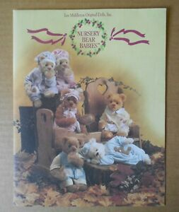 Lee Middleton 1998 NURSERY BEAR BABIES Fold Out Catalog Book