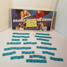 1968 Scrabble Juniors Letters Cardboard Tiles Replacement Parts