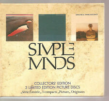 """SIMPLE MINDS """"Collectors' Edition"""" limited Edition 3CD Box"""