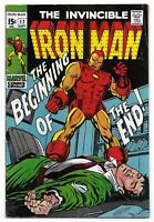 Silver Age 1969 Iron Man Comic 17 from Marvel Comics