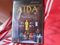 VERDI - VERDI: AIDA DVD NEW & Factory sealed Scandiuzzi Dessi Martinez Palatchi