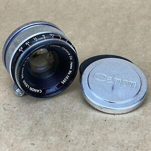 Canon RF 35mm 1.8 Rangefinder Lens - LEICA SCREWMOUNT