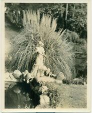 IRENE DUNNE Orig 1930's Costume Photo in Field Sherman Clark Photographer DBWT