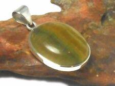 FLUORITE Argento Sterling 925 Pietra Preziosa Ciondolo-Regalo Inscatolato