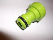 5 x Schlauchkupplung mit 3/4 Zoll Gewinde - Gartenschlauch Adapter - 580449