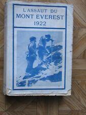 L'assaut du mont Everest 1922 par C.G.Bruce