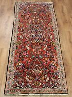 Traditional Vintage Wool Handmade Classic Oriental Area Rug Carpet 250 X 70 cm
