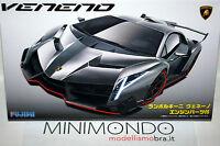KIT LAMBORGHINI VENENO + ENGINE 1/24 FUJIMI 12592 RS94 COMPLETO DI MOTORE