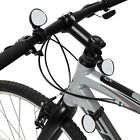 Adjustable 360 Degree Rotate Rear View Mirror Bicycle Road Bike Handlebar Black
