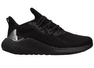 Adidas Alpha Boost Ultra Triple Black Colorway Training Shoes Mens Size 10.5 New