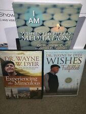 Dr Wayne W Dyer NEW DVD/CD Bundle- Experiencing The Miraculous, Wishes Fulfilled