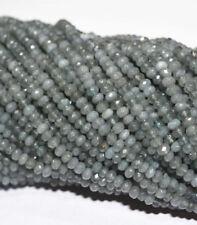 2x4mm natural gray Apatite Abacus Gemstones Loose Beads 15 inch JL573