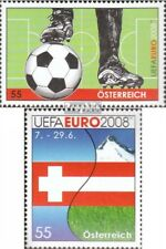 Austria 2723,2726 fine used / cancelled 2008 Football-european championship
