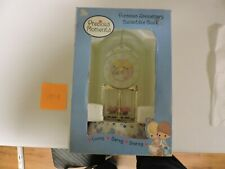 Precious Moments Porcelain Anniversary Collectible Clock Believe in Miracles Nib