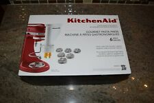 KitchenAid Gourmet Pasta Press Attachment, 6 Discs, New