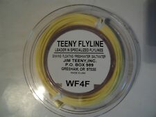 1- SPOOL TEENY FIRST CAST FLY LINE WF-4-F  (NIP)