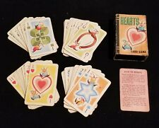 Complete Vintage Whitman Hearts Card Game Excellent Pixie Elves Instructions Box