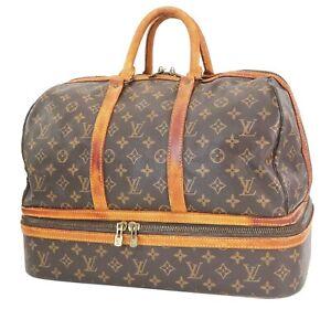 Auth Vintage LOUIS VUITTON Sac Sport Monogram Boston Travel Bag Suitcase #40028