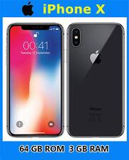 "Apple iPhoneX Factory Unlocked Original Mobile Phone iOS Hexa-core 5.8"" 64GB New"