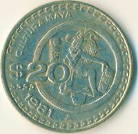 COIN / MEXICO / 20 PESOS 1981   #WT11795