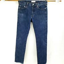 Gap 32x36 Slim Fit Stretch Blue Jeans Dark Wash Modern Casual Work Premium Denim