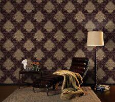 Luxus Retro Barock Tapete 156645 Lounge Ornament Tapete gold braun (2,80?/1RO)