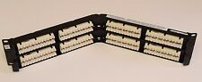 Commscope Uniprise Solutions Cat6 48-Port Angled Patch Panel MISSING HARDWARE