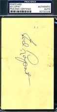 ED LOPAT SIGNED PSA/DNA AUTHENTICATED 1951 GPC AUTOGRAPHPC